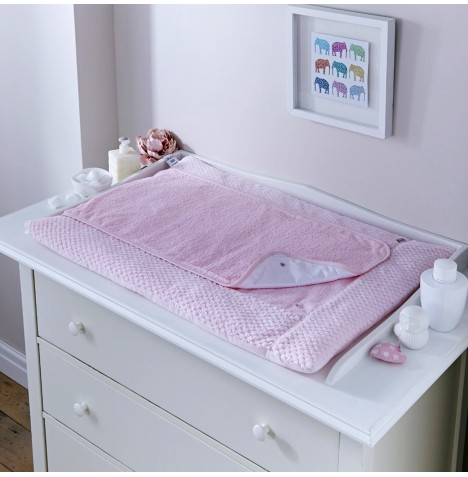 Clair De Lune Luxury Changing Mat - Honeycomb Pink